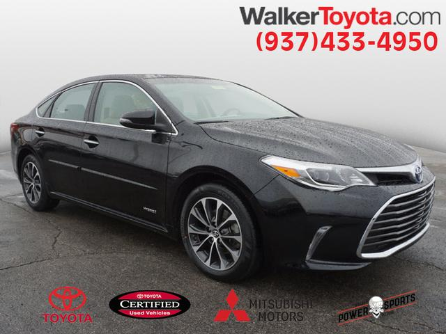 Certified Pre Owned 2016 Toyota Avalon Hybrid Xle Premium