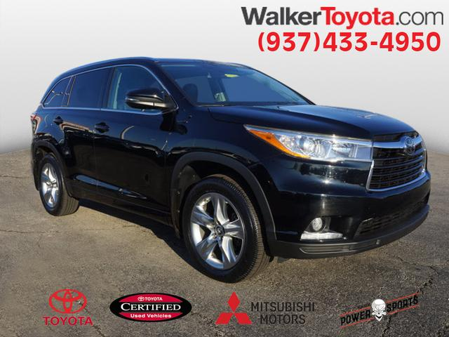 Certified Pre Owned 2016 Toyota Highlander Limited Platinum V6