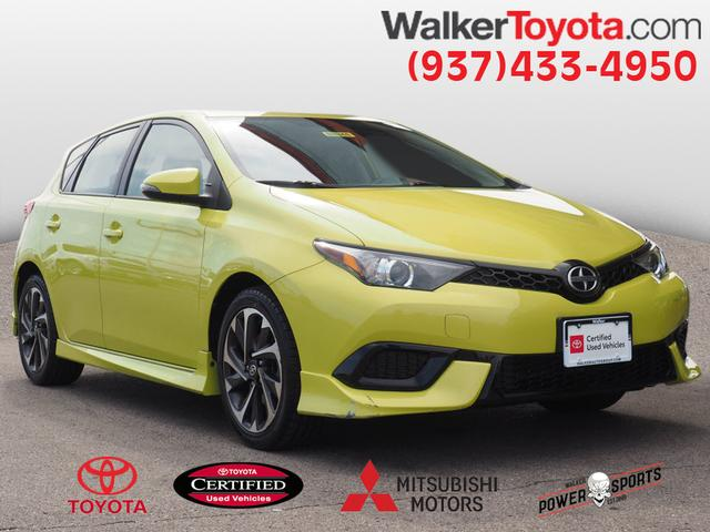 Certified Pre-Owned 2016 Scion iM Base