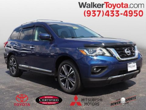 Pre-Owned 2017 Nissan Pathfinder Platinum With Navigation & 4WD